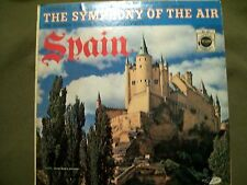 D'ARTEGA CONDUCTS THE SYMPHONY OF THE AIR SPAIN LP DESIGN DCF 1003 COVER MISPRIT