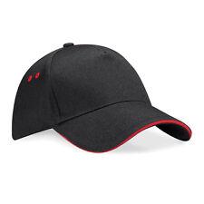 Personalised Embroidered Baseball Cap Contrast Custom Printed Hat Unisex