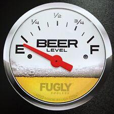 Fugly Coolers Beer Gauge Level - Sticker