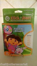 Leap Frog Click Start ~~ Finding Dora - Age 3-6, Boy & Girl ~~ NEW in Package