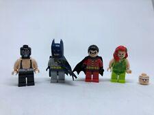 LEGO Super Heroes Batman The Batcave #6860 COMPLETE figures, manuals and box