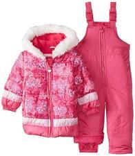 London Fog Toddler Girls Pink Floral 2pc Snowsuit Size 12M
