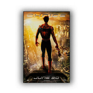 """Spiderman 2 Art Movie Poster HD Print Wall Home Decor 12 16 20 24"""" Sizes"""