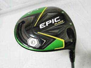Used RH Callaway Epic Flash 9° Driver Even Flow 45 Graphite Senior A Flex+HC