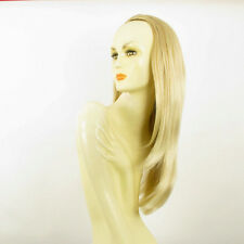 DT Half wig HairPiece golden blond poly mesh very light blond 24.4 :19/24bt613