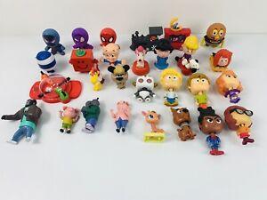 Bulk Lot 28 McDonalds Happy Meal Toys Scooby Doo Peanuts Sing Mr Men Bundle