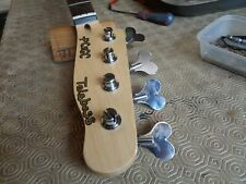 Tele j-bass scallop edged neck with 38mm nut width (loaded)