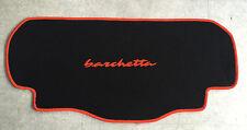Autoteppich Kofferraummatte für Fiat Barchetta schwarz orange 1teilig Neuware
