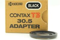 [ Mint in Box ] Contax Adapter Filter Black 30.5mm For Contax T3 from JAPAN #265