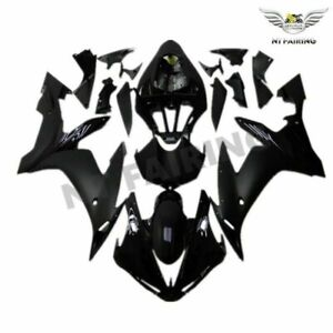 UK Black Injection Plastic Fairing Fit for Yamaha 2004 2005 2006 YZF R1 ABS o004