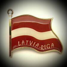 Fridge Magnet Metal Latvia Flag Metal Travel Souvenir For Collection Gift M814
