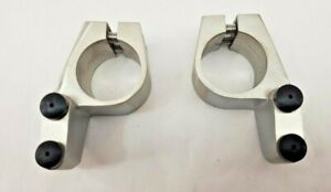 J8300A-4 Stainless Steel Sliding Glass Door Stoppers - Pair