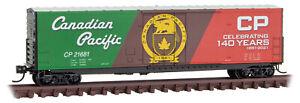 Micro-Trains MTL N-Scale Canadian Pacific/CP Rail 140th Anniversary Car #21681