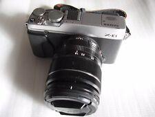 Fujifilm FinePix X Series X-E1 16.3 MP Digital Camera - Silver (Kit w/ 18-55mm)