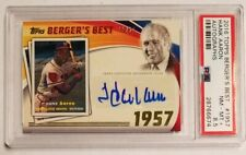 2016 Topps Berger's Best HANK AARON /25 PSA 8.5 Auto Autographs #1957 Autograph