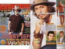 JOHNNY DEPP Daniel Craig GARETH GATES Celebs Mag (17 June 2007)