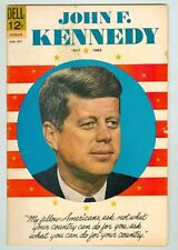 John F Kennedy VG August 1964 Photo cover