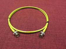 Belden 1855A HD-SDI Mini RG59 Video Cable D BNC Male to Male Yellow, 2 ft.