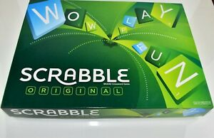 Scrabble Original Classic Board Game Playground For Words Help Build Vocabulary