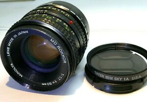Minolta 50mm f1.7 Lens Manual Focus adapted to Fuji FX mount Fujifilm X-T20 T30