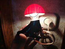 Vintage Original-Authentic night lamp Lamp Night Light Clothespin Football boots