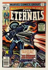 Eternals #11, 8.0 VF Very Fine, 1st APPEARANCE DRUIG + KINGO/MCU ETERNALS MOVIE!