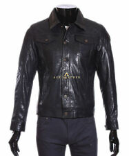 Popper Leather Other Men's Jackets