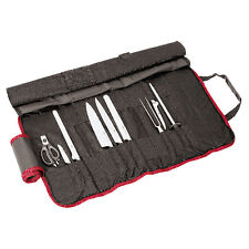 Paderno Rotolo portacoltelli forgiati 9 pz Knife roll-bag forged