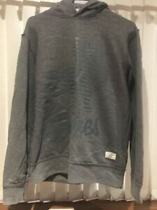 MENS JACK & JONES GREY HOODIE SZ MEDIUM