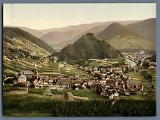 Ahrtal. Mayschoss. PZ vintage photochromie, Deutschland photochromie, vintage