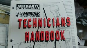 MERCURY SERVICE MANUAL # 90-816981970 HANDBOOK-TECH OB 2.5 - 60HP VOL 1 1997