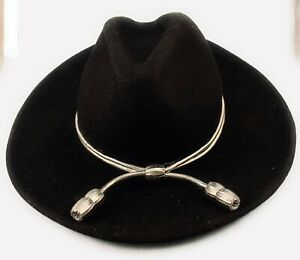 Silver Acorn Hat Band, Campaign Cord, Cavalry, State Trooper (Band Only)