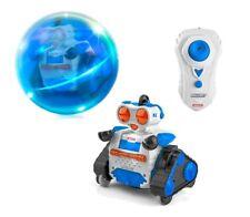 Ninco Nt10042. robot en bola radio control Ballbot 2 azul con luces.