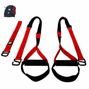 Fit Active Sports Dual Strap Suspension Body Trainers for Full Body Workouts