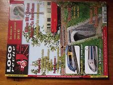 $$9 Loco-Revue N°737 Chateau Thierry  Entrees de tunnels  X 73500  TGV POS