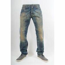DENHAM Jeans Herren Blau Model: GRADE ALH Regular Straight NEU mit Etikett JD02