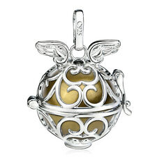 Angel Wings Harmony ball Pendant Mexican Bola Pregnancy Baby Bell Anger Caller