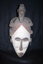 Large African wood mask, Fang People of Gabon.