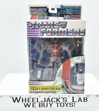 Starscream 07 MegaSCF G1 Transformers Takara Cybertron Commander
