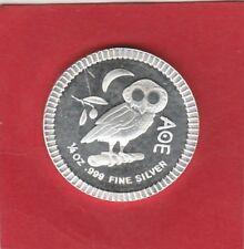 Münze Eule 2018 1 Dollar 1/4 Unze Fein Silber 999 Elizabeth II. One Dollar