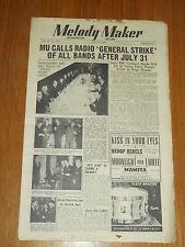 MELODY MAKER 1948 #775 JUN 12 JAZZ SWING HARRY PARRY DINAH SHORE HARRY GOLD