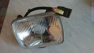 Nissan 200SX S13, RH headlamp unit and mount plate,new in box, 26010-44F06.