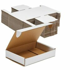 New Listingcorrugated Shipping Boxescardboard Mailers Folding Lids6x4x1 In 50 Pack