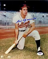 Luis Aparicio autographed signed 8x10 photo Baltimore Orioles PSA COA Photo File