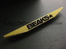 BEAKS GOLD REAR LOWER SUBFRAME TIE BAR 2006-2011 FOR HONDA CIVIC FA FG FD 2DR 4D