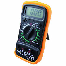 Useful Digital Multimeter Voltmeter Ammeter Ohmmeter Volt Tester Meter XL-830L