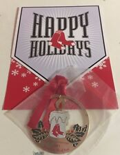 2005 Boston Red Sox Season Ticket Holder Team Issued Christmas Card & Ornament