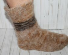 NEW MEN's WOOL SOCKS knitted SUPER THICK heavy Russian craft WARM