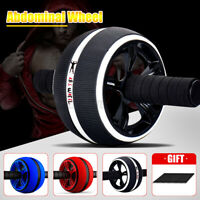 AB WHEEL Roller ABS Trainer Exercise Gym Roller Abdominal Muscle Fitness Sport