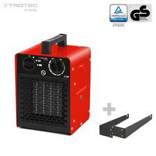 TROTEC Chauffage soufflant céramique TDS 10 C Thermostat Chauffage Radiateur